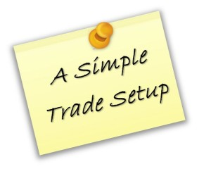 Simple Trade Setup